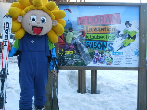 Jim skie au Lioran - février 2019